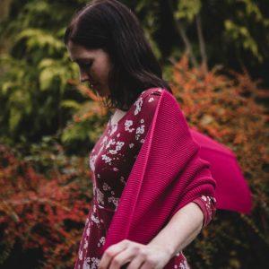 Purist langer Schal aus Biobaumwolle