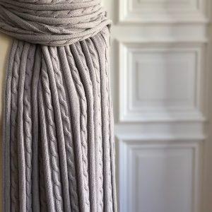 Mamaschal aus Bio-Baumwolle 70 x 200 cm